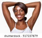beautiful  african american... | Shutterstock . vector #517237879