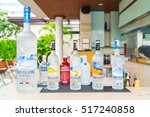 Small photo of Bangkok,Thailand - October 09,2015: Bottle of Swedish vodka Absolut, Produced by Vin & Sprit.