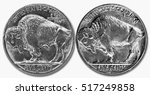 1937 D Buffalo Nickle With...