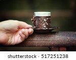 turkish coffee is a symbol of... | Shutterstock . vector #517251238