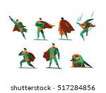 vector illustration set of... | Shutterstock .eps vector #517284856