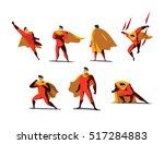 vector illustration set of... | Shutterstock .eps vector #517284883