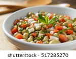 Mint Broad Bean Salad With...
