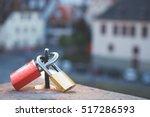 Love Locks At Heidelberg