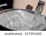 ice bucket. | Shutterstock . vector #517291420