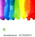 abstract painting background.... | Shutterstock .eps vector #517325074
