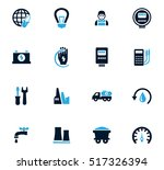 alternative energy icons set... | Shutterstock .eps vector #517326394