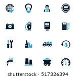 alternative energy icons set... | Shutterstock .eps vector #517326394