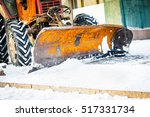 close up of an old excavator... | Shutterstock . vector #517331734