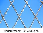 Abstract Razor Wire In The...