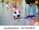 children training soccer ...   Shutterstock . vector #517333873