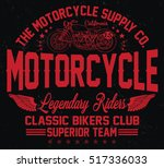 california classic bikers club  ...   Shutterstock .eps vector #517336033