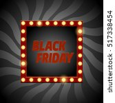 vector black friday banner.... | Shutterstock .eps vector #517338454