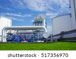 petroleum products reservoirs | Shutterstock . vector #517356970
