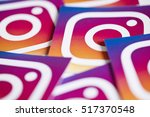 oxford  uk   november 17th 2016 ... | Shutterstock . vector #517370548