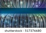 dark futuristic vector backdrop ... | Shutterstock .eps vector #517376680