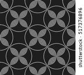 tiled seamless geometric... | Shutterstock .eps vector #517376896