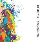 vector grunge background | Shutterstock .eps vector #51738118