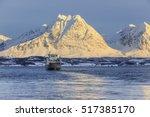 breivikeidet  norway   february ... | Shutterstock . vector #517385170