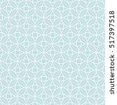 art deco seamless background. | Shutterstock .eps vector #517397518