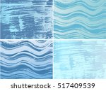 set of hand drawn grunge... | Shutterstock .eps vector #517409539