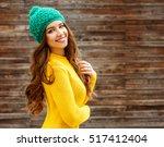 Beautiful Smiling Brunette...