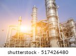 refinery oil and gas industry | Shutterstock . vector #517426480