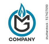 gas and mg company linked... | Shutterstock .eps vector #517427050