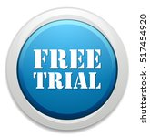 free trial button   Shutterstock .eps vector #517454920