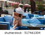 lifestyle woman relaxing...   Shutterstock . vector #517461304