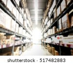 blurred image of interior of... | Shutterstock . vector #517482883