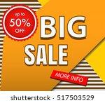 sale banner offer | Shutterstock .eps vector #517503529