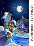 Lunar  Starry  Christmas Night...