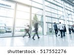 blurred business people at a... | Shutterstock . vector #517552276