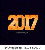 new year vector background... | Shutterstock .eps vector #517556470