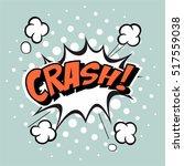 comic speech bubble  vector... | Shutterstock .eps vector #517559038