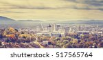 vintage toned panoramic picture ... | Shutterstock . vector #517565764