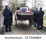 Military Funeral At Arlington...