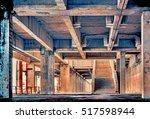 design element. abandoned... | Shutterstock . vector #517598944