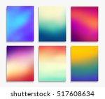 brochure flyer layouts in a4... | Shutterstock . vector #517608634