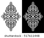decorative element traditional... | Shutterstock .eps vector #517611448