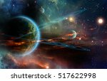 twin ring giant | Shutterstock . vector #517622998