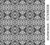 indian pattern. ethnic motif.... | Shutterstock .eps vector #517658338