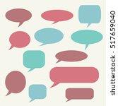 speech bubble. dream cloud....   Shutterstock .eps vector #517659040