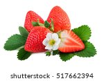 Fresh Organic Strawberry With...