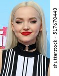 "Small photo of LOS ANGELES - NOV 16: Dove Cameron at the ""Hairspray Live!"" Press Junket at Universal Studios Lot on November 16, 2016 in Universal City, CA"