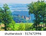 castle in yverdon les bains in... | Shutterstock . vector #517672996