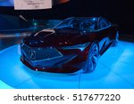 Small photo of Los Angeles, USA - November 16, 2016: Acura Precision Concept on display during the Los Angeles Auto Show.
