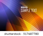 color abstract template for... | Shutterstock .eps vector #517687780