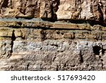 Detail  Geological Layers Of...